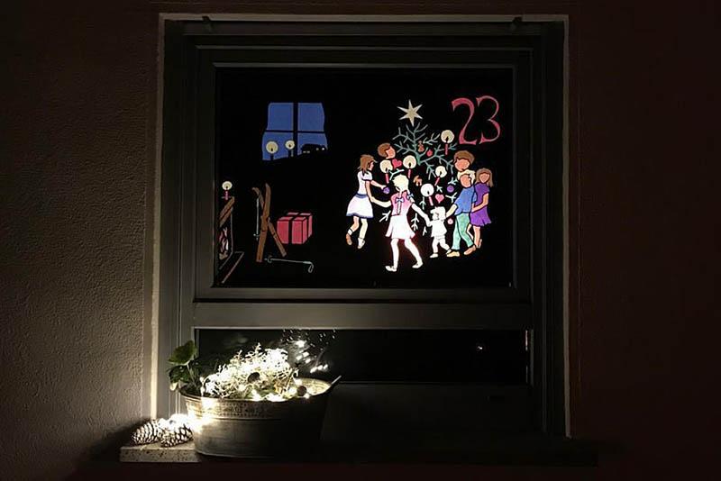 In Rodenbach, Neitzert und Udert leuchten Adventsfenster
