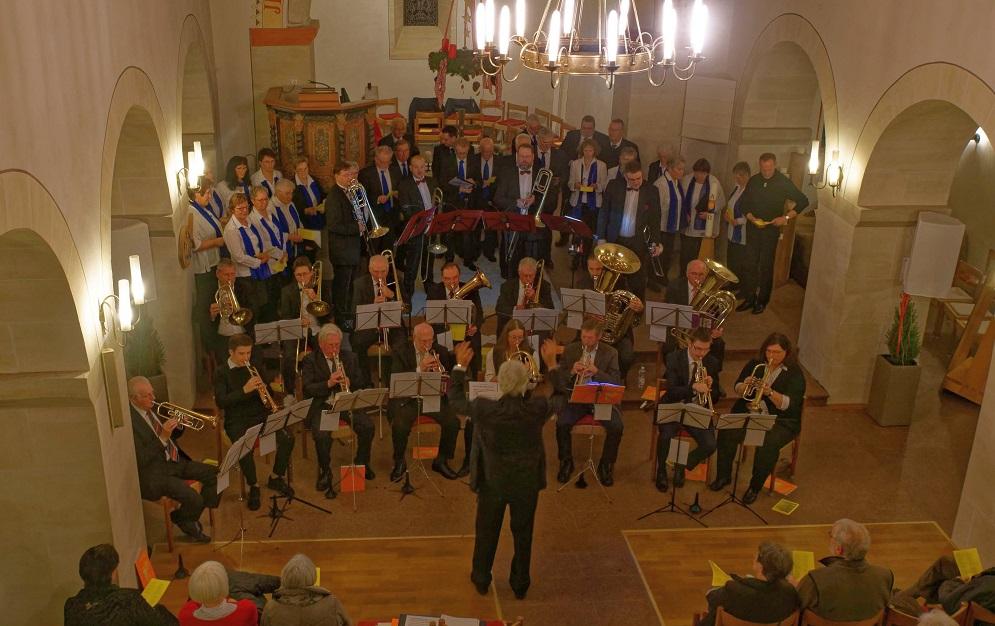 Adventskonzert des Posaunen- und Kirchenchors Birnbach