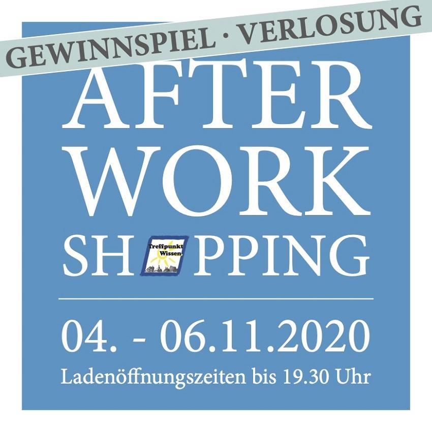 After-Work-Shopping in Wissen vom 4. bis 6. November mit buntem Angebot