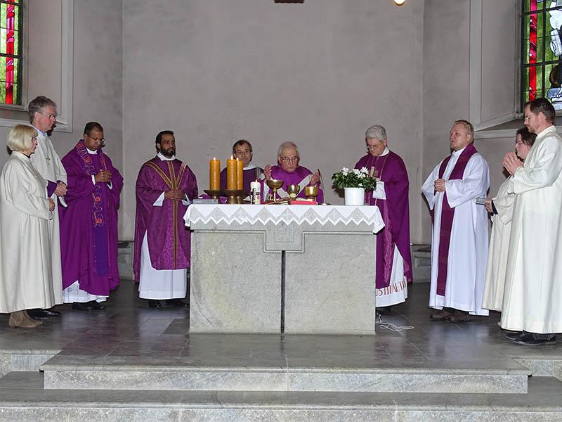 Pfarrer Albert Keller feierte 60-jähriges Priesterjubiläum