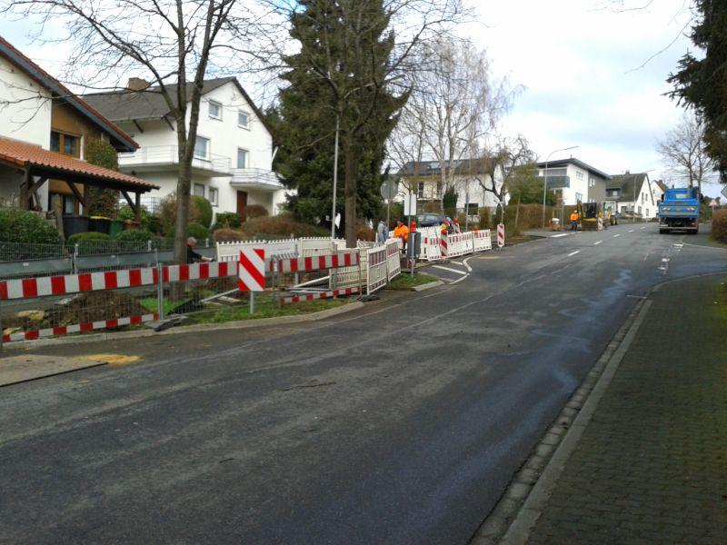 Montabaur: Wasserleitungen in der Albertstraße werden erneuert