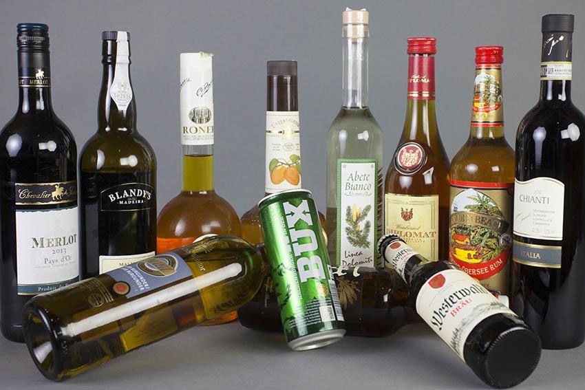 Alkoholika in Linzer Einkaufsmärkten geklaut