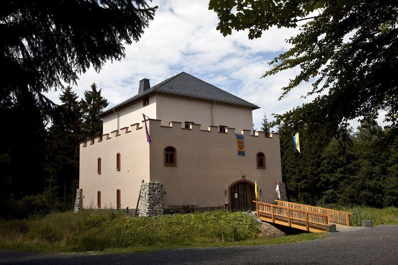 """""""Alte Burg"""" Rotenhain mit Rad erwandern"""