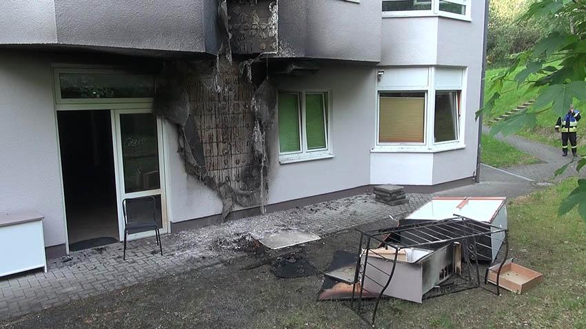 Zimmerbrand im Seniorenzentrum Hildegardis Langenbach