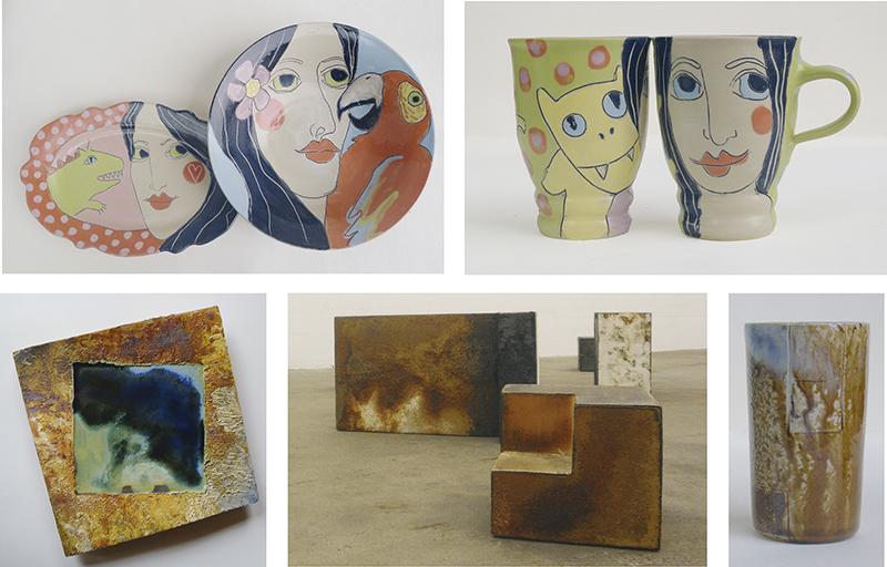 Keramikkünstlerpaar Angerer zeigt Arbeiten in Kulturwerkstatt