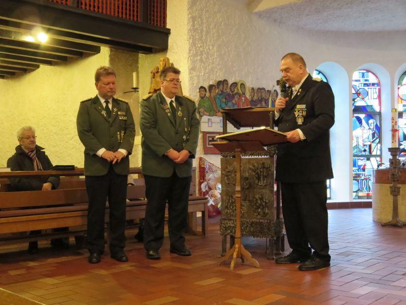 Verleihung des Anno Santo Kreuz