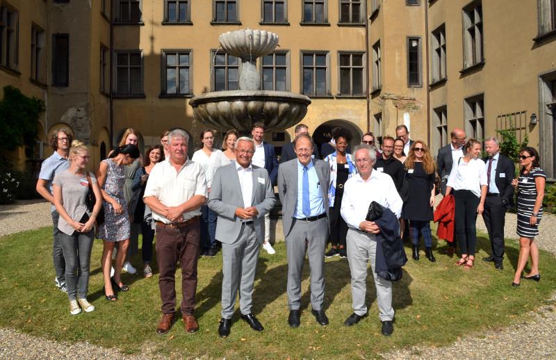 Vertreter der Gesundheitsregion trafen sich auf Schloss Arenfels