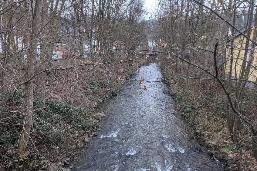 Polizei bittet um Hinweise: Leblose Person in der Asdorf in Kirchen gefunden