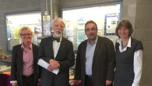 Friedenspreis des Deutschen Buchhandels: Würdigung im Westerwald