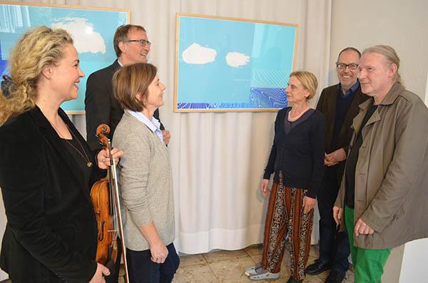 """Kunst im Kreishaus """"…Luft fleckt weiß"""""""