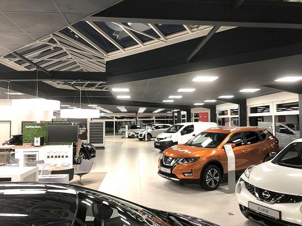Autohaus Siegel präsentiert sich in neuem Ambiente