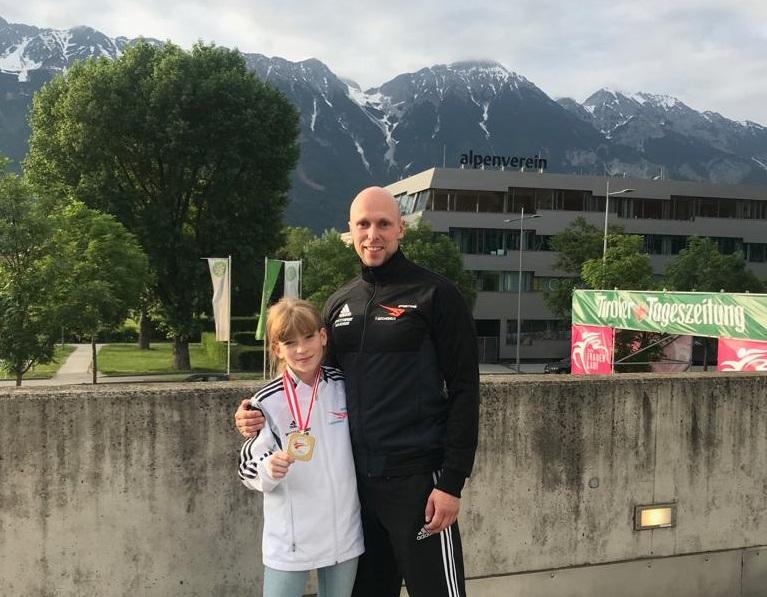 Gold bei den Austrian Open f�r Sporting Taekwondo