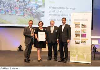 WFG Westerwaldkreis: Auszeichnung auf Bundesebene