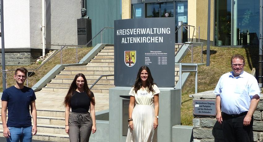 Ausbildungsstart: Kreisverwaltung begrüßt neue Mitarbeiter