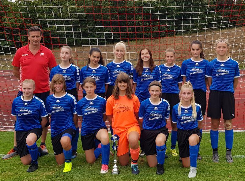 B-Juniorinnen des SV Gehlert sind Turniersieger im Blasius-Schuster-Cup 2019. Foto: privat