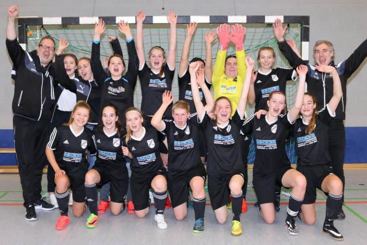 B-Juniorinnen des SV Rengsdorf sind erneut Rheinlandmeister