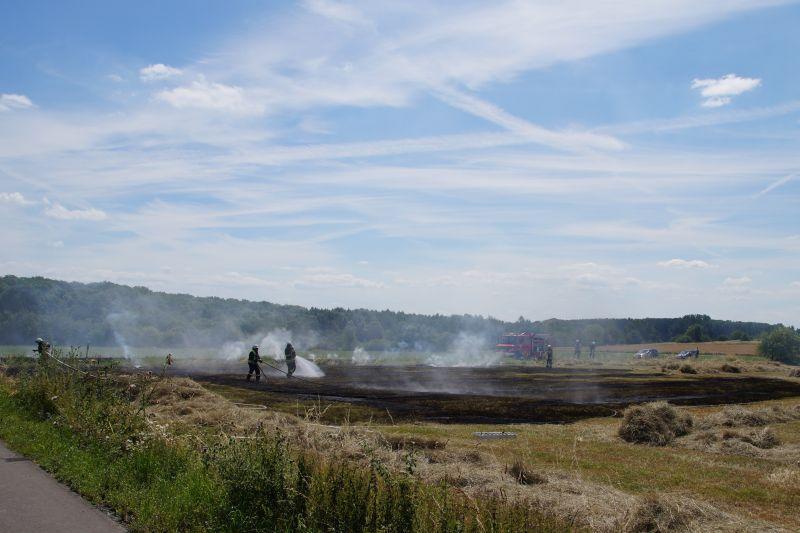 Zwei Flächenbrände innerhalb kurzer Zeit