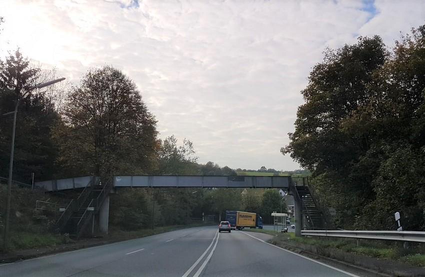 Fahrstreifen auf der B 62 bei Öttershagen zeitweise gesperrt