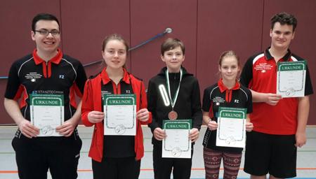 Badminton-Nachwuchs des BCA zeigte gute Leistungen