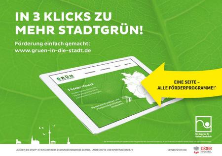 Online-Förder-Check: In drei Klicks zu mehr Stadtgrün