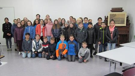 Schüler der Martin-Luther-Grundschule besuchten den BGV