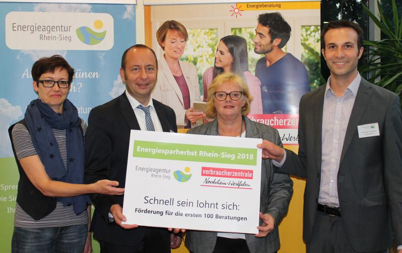 Energiesparherbst Rhein-Sieg 2018: Schnell sein lohnt sich
