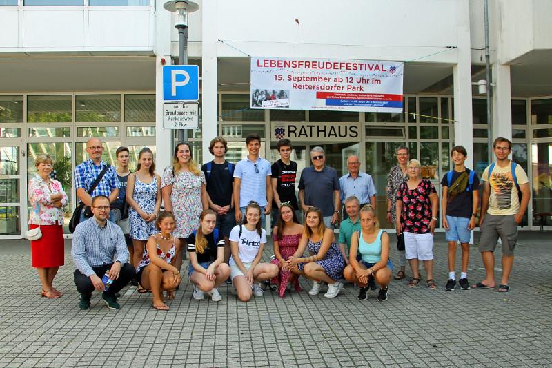 Jugendliche aus drei Nationen lernten sich in Bad Honnef kennen