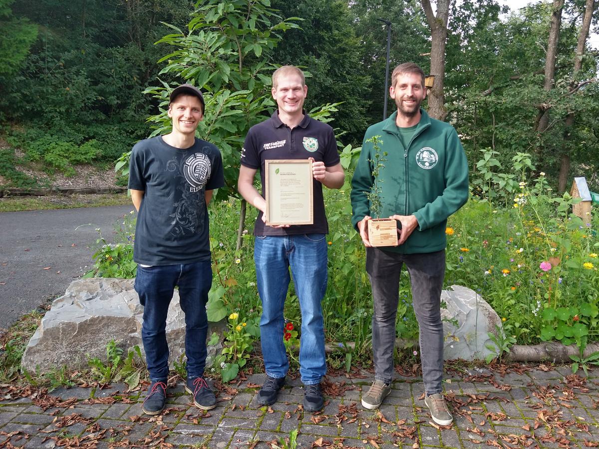Projekt der St. Hubertus-Schützenjugend gewinnt Nachhaltigkeitspreis