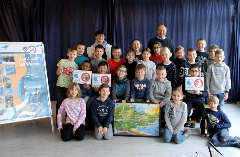 Schule der Zukunft: Wasserbotschafter ausgebildet