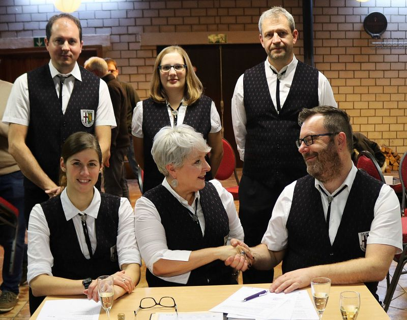 Blasorchester Daubach unter neuer Leitung