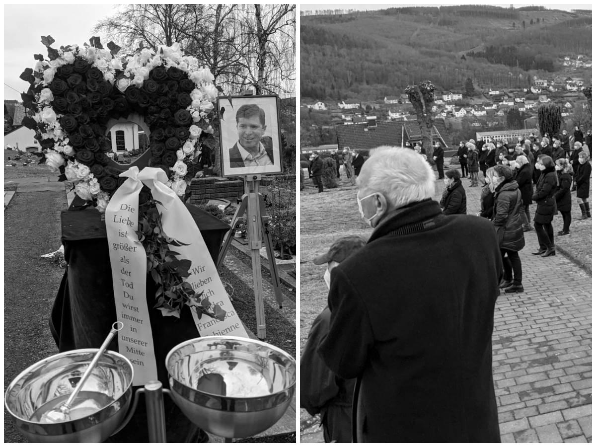 """Beerdigung von Maik Köhler: """"Danke für die Zeit mit Dir!"""""""