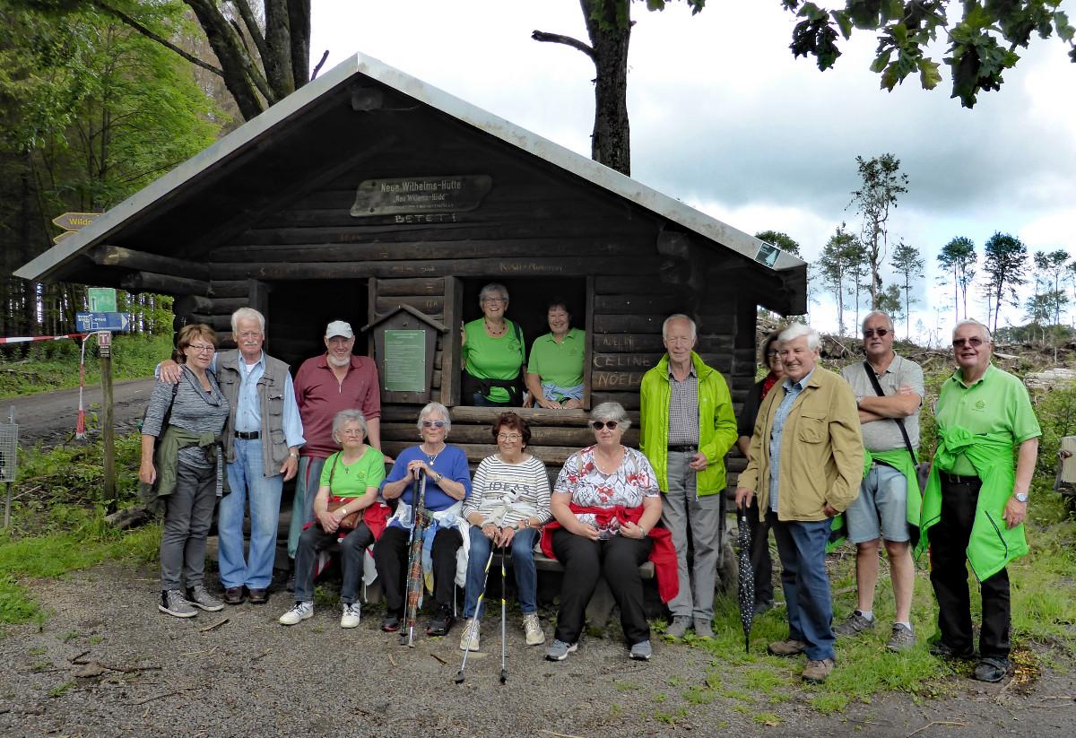 14 Wanderwillige machten sich mit dem Westerwaldverein auf den Weg. (Foto: Verein)