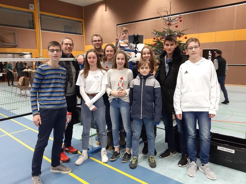 DJK Gebhardshain-Steinebach erlebt Badminton-Bundesliga hautnah mit