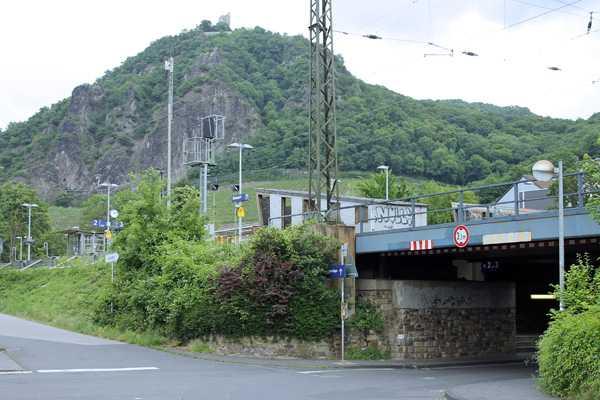 Umbau des Bahnhofs Rhöndorf