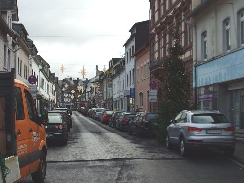 Obere Bahnhofstraße in Montabaur wird asphaltiert