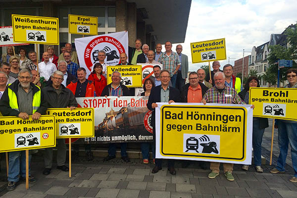 CDU-Kreisvorstand Neuwied begrüßt Erfolge gegen Schienenlärm