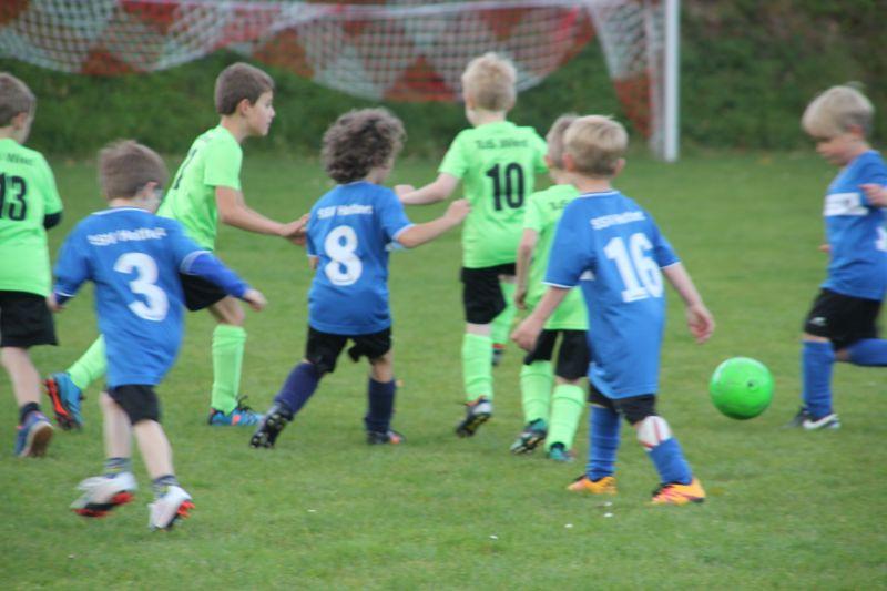 Trainingsspiele der Bambini des SSV Hattert