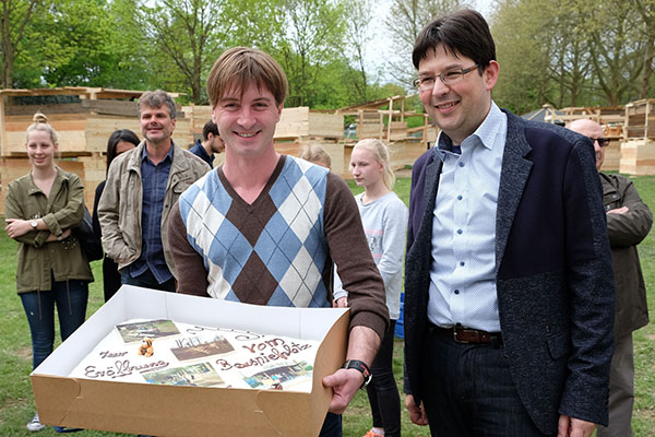 Bauspielplatz in Neuwied wieder eröffnet