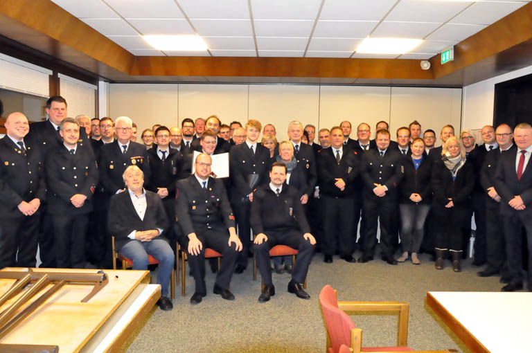 Jahresdienstversammlung: Feuerwehr Betzdorf blickte zur�ck und in die Zukunft
