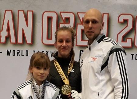 Gold und Silber bei den Belgian Open für Sporting Taekwondo