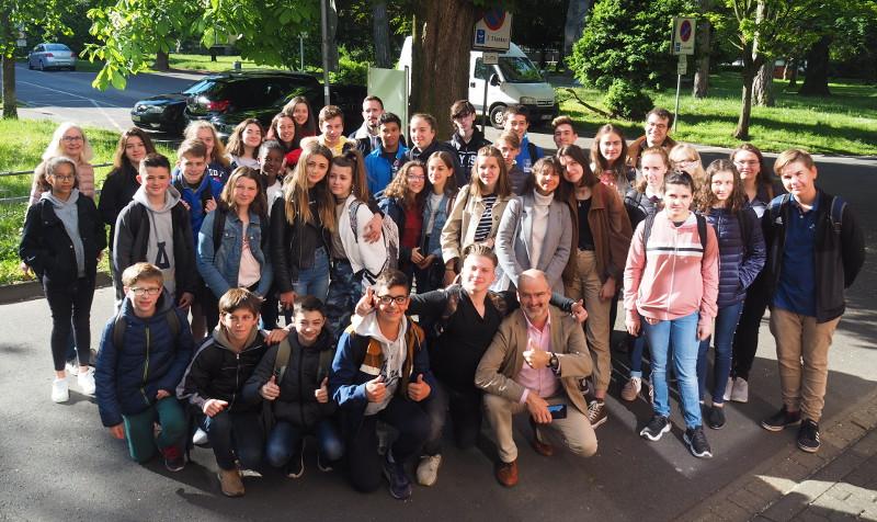 Schüler aus Yzeure zu Besuch