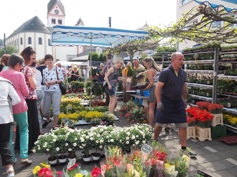 """Beim Bauern- und Gartenmarkt gibt es alles, was das """"grüne Herz"""" begehrt. Foto: Stadt Bendorf"""