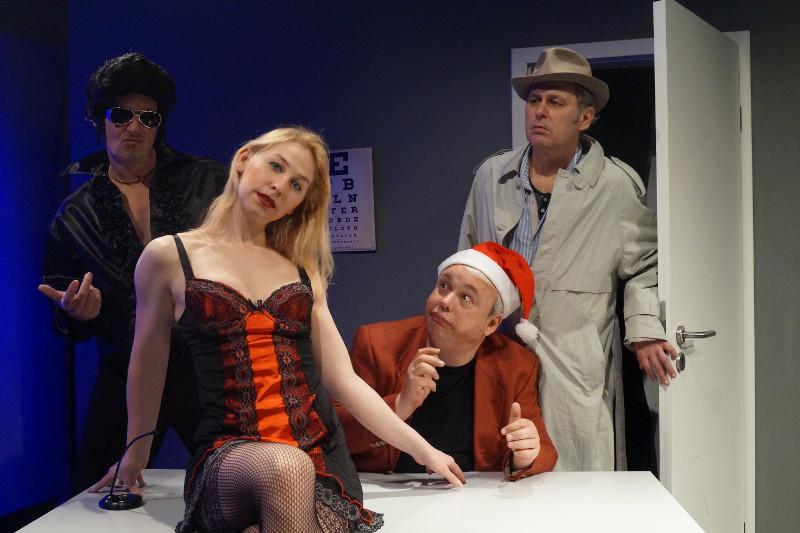"""Theater der Stadt Lahnstein präsentiert """"Der Neurosenkavalier"""""""