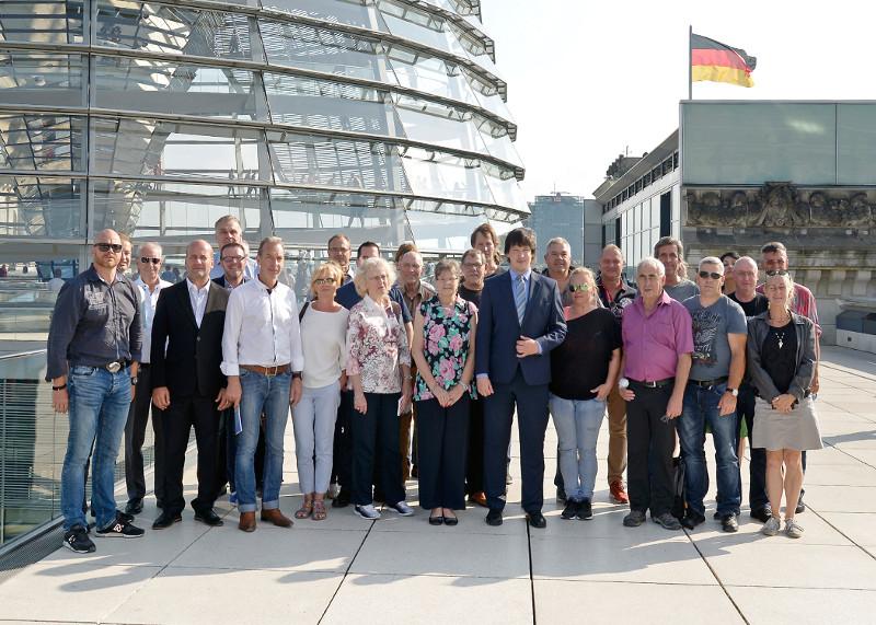 MdB Andreas Bleck lud zur Berlin-Fahrt