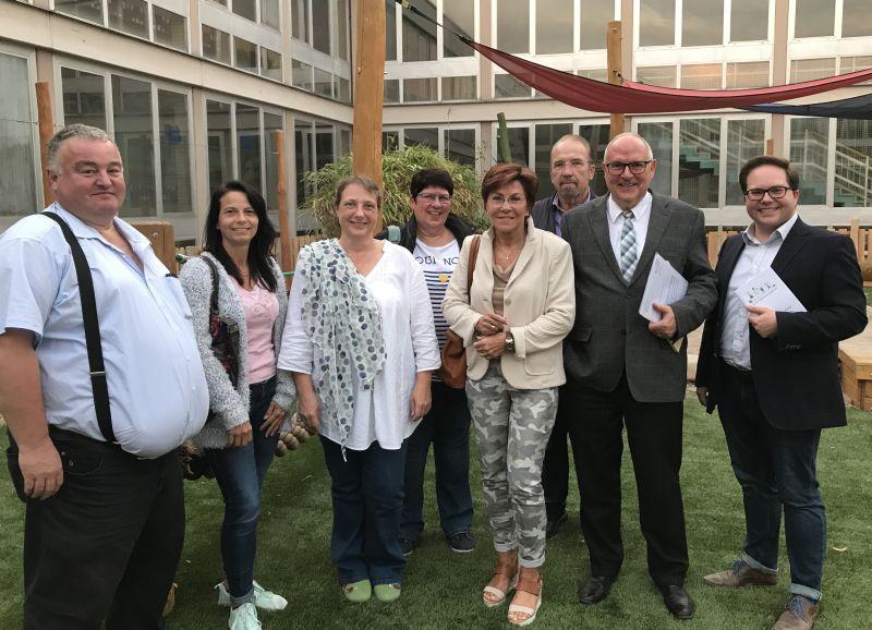 """Kita """"Rommersdorf"""" informierte Politiker aus Heimbach-Weis"""