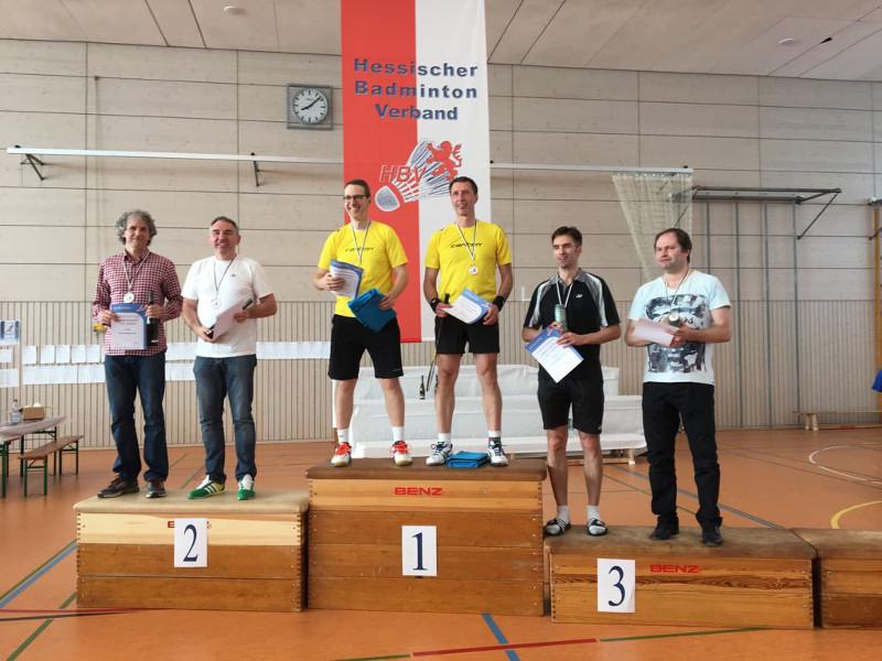 Björn Hornburg und Markus Wüst siegten im Herrendoppel. Foto: Privat