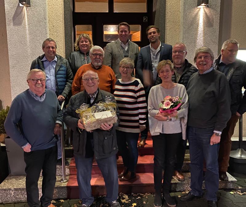 CDU Betzdorf ehrt und verabschiedet langj�hrige Stadtratsmitglieder