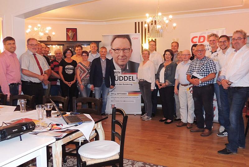 Kreis-CDU macht Wahlkämpfer fit für den Wahlkampfendspurt