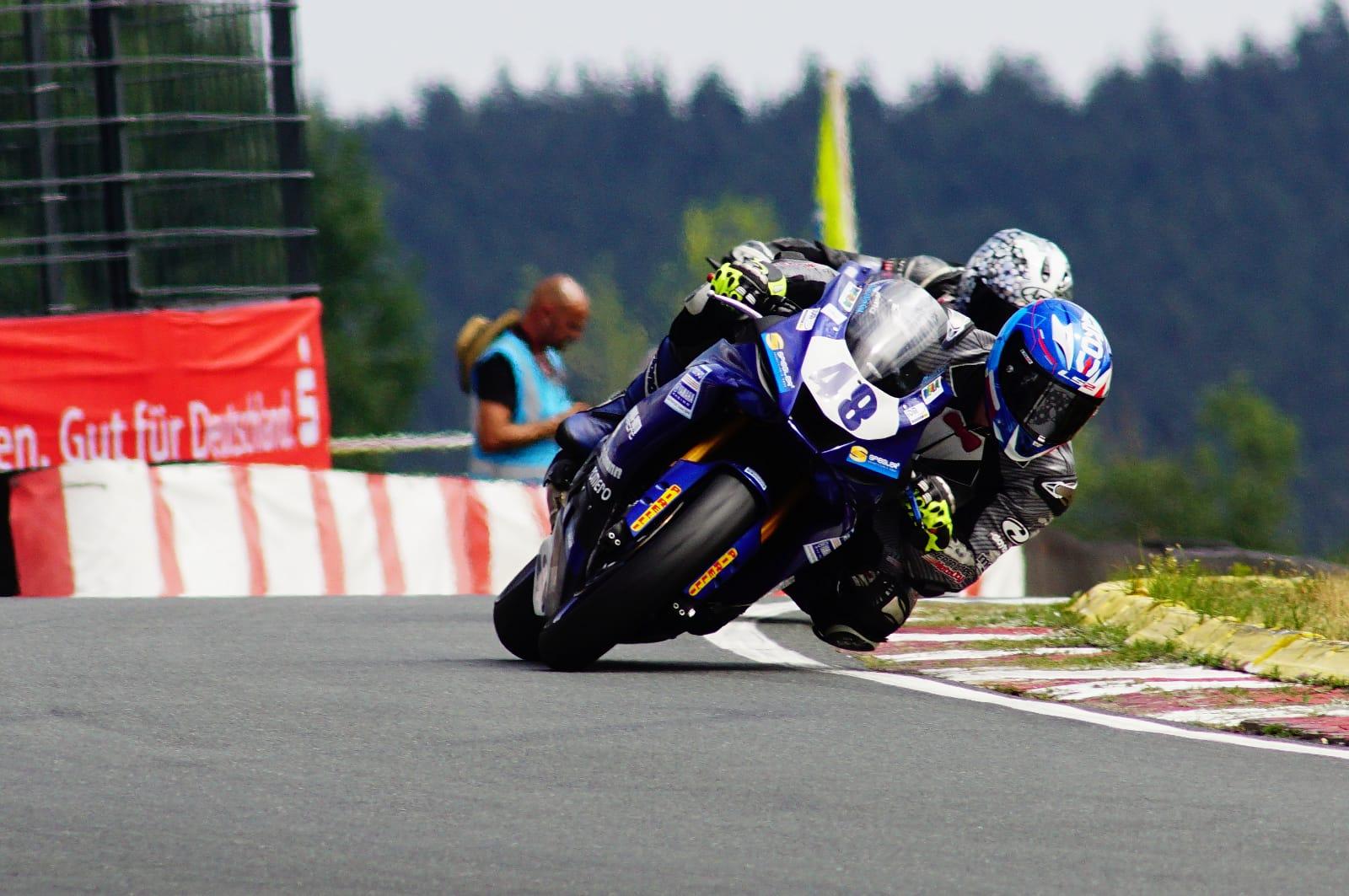 Dominik Vincon gibt Comeback im Team Yamaha Romero