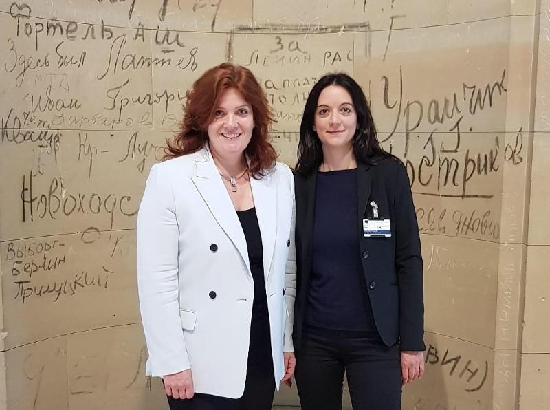 Wirtschaftsjuniorin begleitet MdB Sandra Weeser